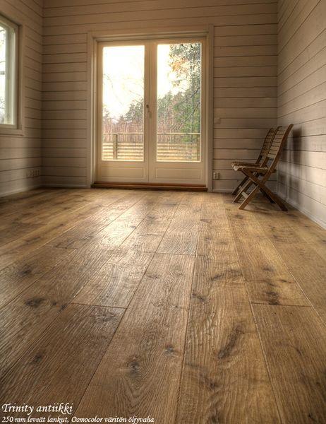 Luxury Basement Hardwood Floor
