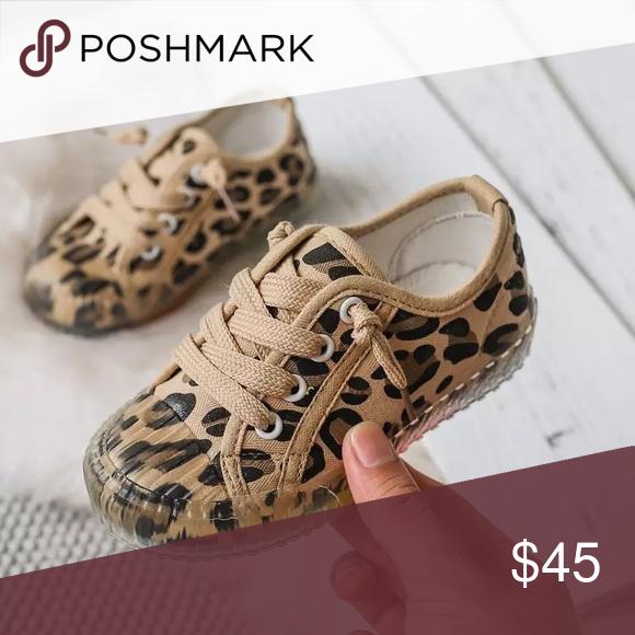 Leopard Cheetah Print Canvas Shoes