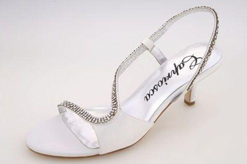 202b0da43b8 Low Heel Wedding Shoes - The Wedding Specialists