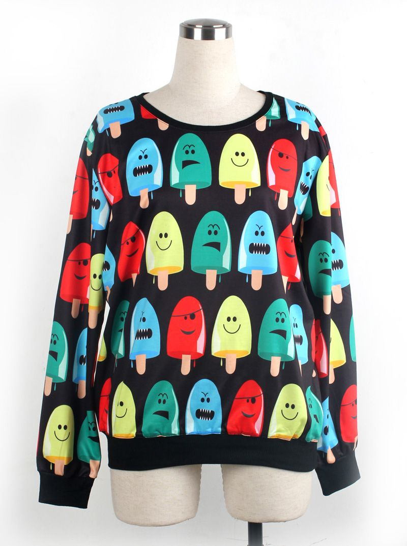 3D T-shirt Sweater Sweatshirt Hoodie Pullover Top