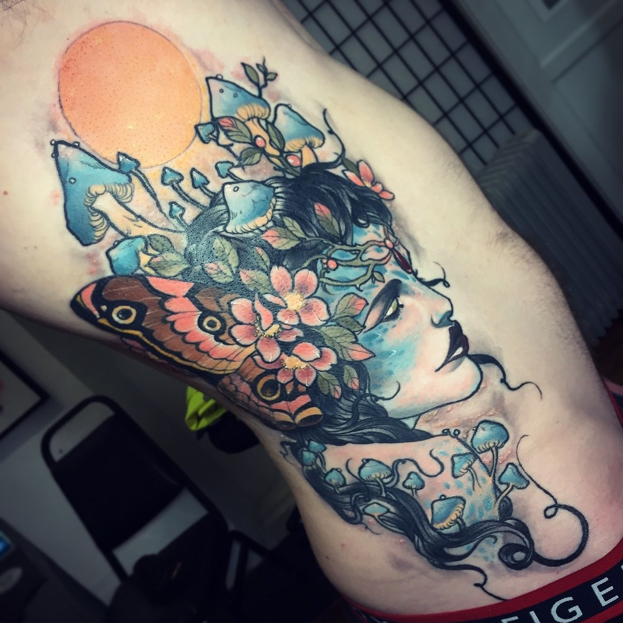 Mother Nature By Dean Kalcoff, At Dark Cloud Electric, In