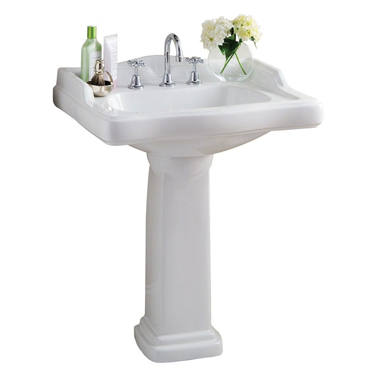 Manhatten Pedestal Basin - Basins - Bathroom