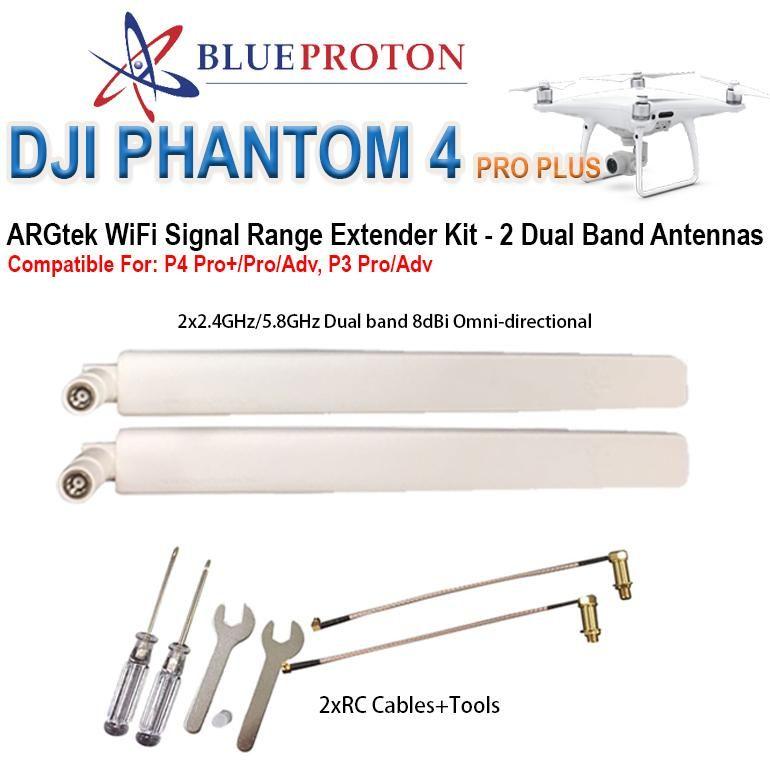 ARGtek DJI Phantom 4 PRO Plus WiFi Signal Range Extender (2