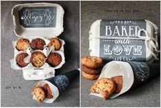DIY by M Cookies  offrir dans une jolie boite ecole