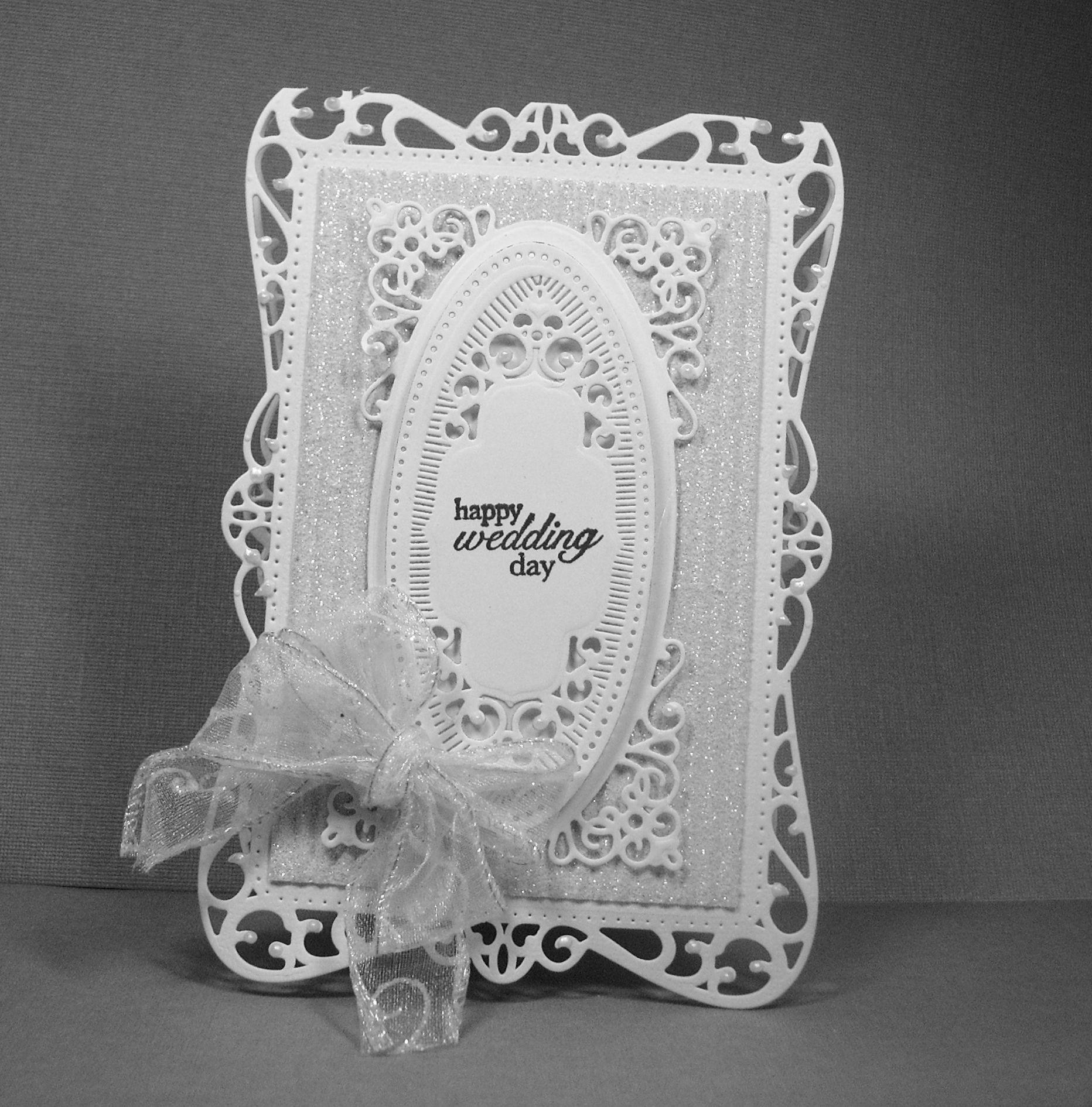 using some new spellbinder dies  greeting card craft