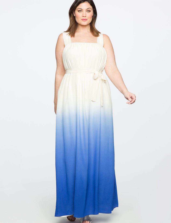 Teresa For Eloquii Silk Tie Dye Maxi Dress Women S Plus Size Dresses Eloquii Womens Maxi Dresses Tie Dye Maxi Dresses White Maxi Dresses [ 1370 x 1050 Pixel ]