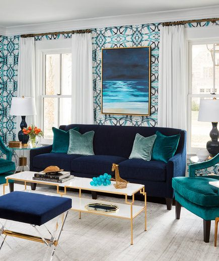 Colorful Rooms With A View: See How One Designer Filled A Home With Color And Pattern