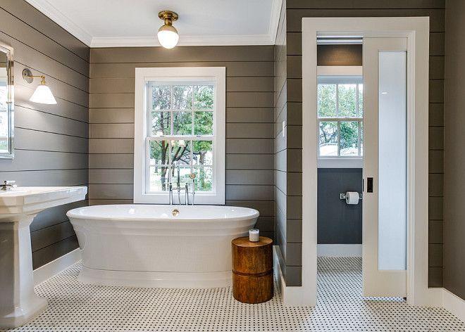 20 Amazing Bathroom Designs With Shiplap Walls Housely Shiplap Bathroom Rustic Master Bathroom Bathrooms Remodel