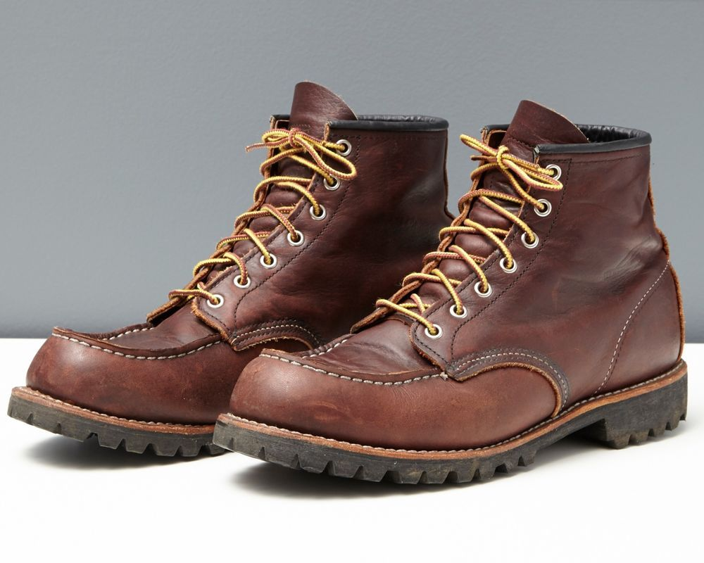 a06a0701a40 Details about MENS RED WING WORK BROWN BOOTS SIZE 10.5 D in 2019 ...