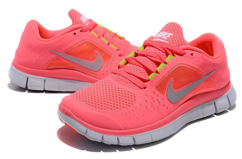 Nike Shoes Free Run 3 Neon Pink størrelse 8 Poshmark