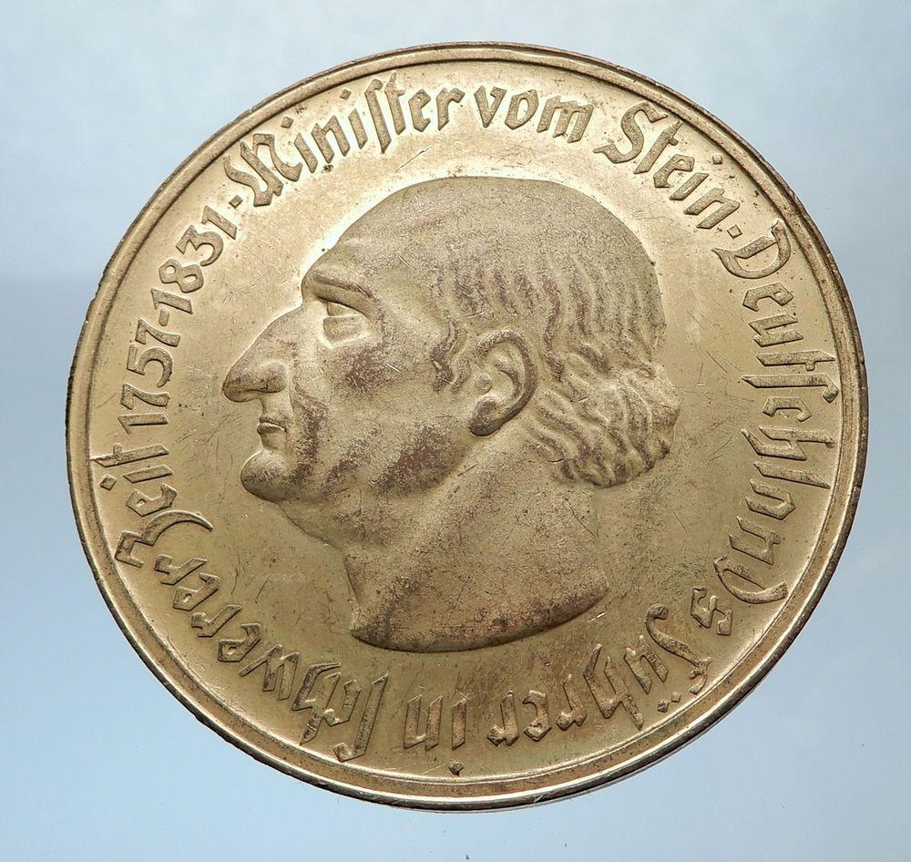 1923 GERMANY Weimar WESTPHALIA 10000 Mark NOTGELD Coin