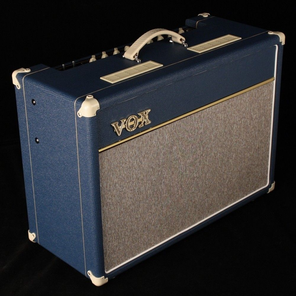 vox ac15 custom limited edition blue ac15c1bl guitars i like sell music bass amps guitar amp. Black Bedroom Furniture Sets. Home Design Ideas