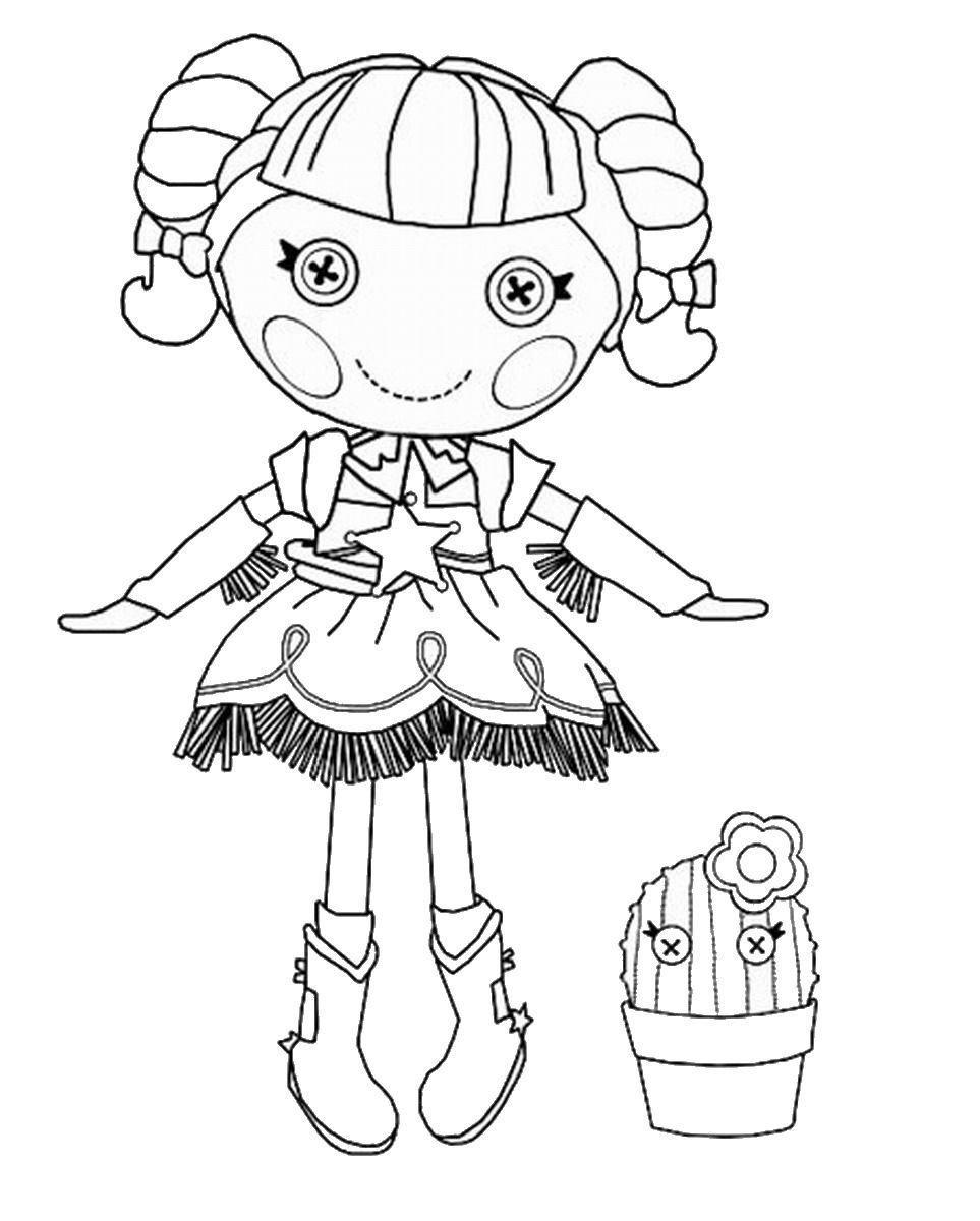 Lala Loopsy Coloring Pages | Printable Coloring Pages ...