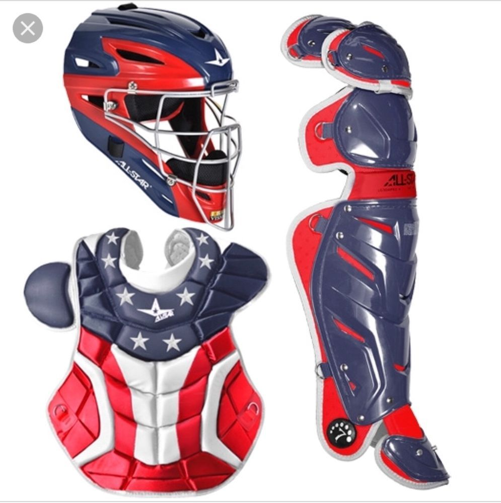 All Star System Seven Pro Adult Baseball Catchers Gear