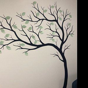 Wall Decal Large Tree decals huge tree decal nursery with | Etsy