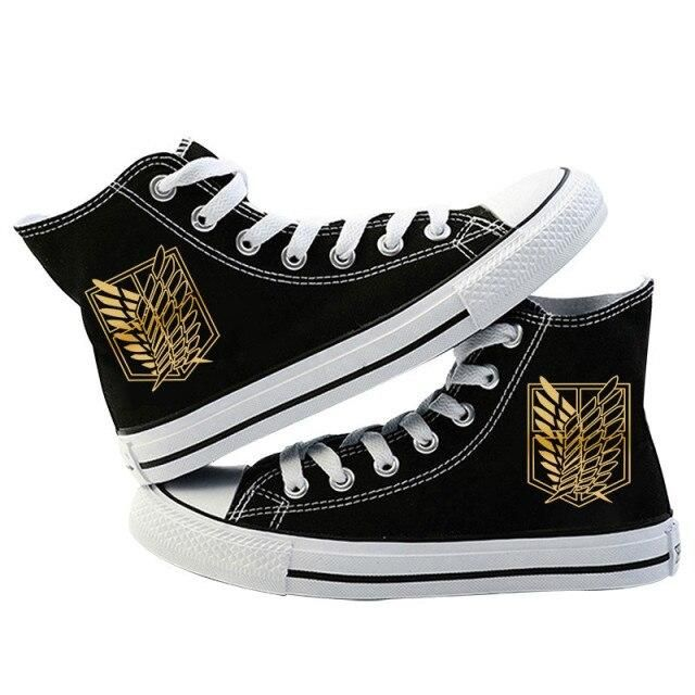 Photo of Anime Cosplay Canvas Shoes – C / 36