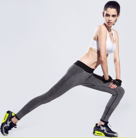 Brand New Women High Waist Stretched Sports Gym Fitness Yoga Leggings Pants - WizworksCreatives