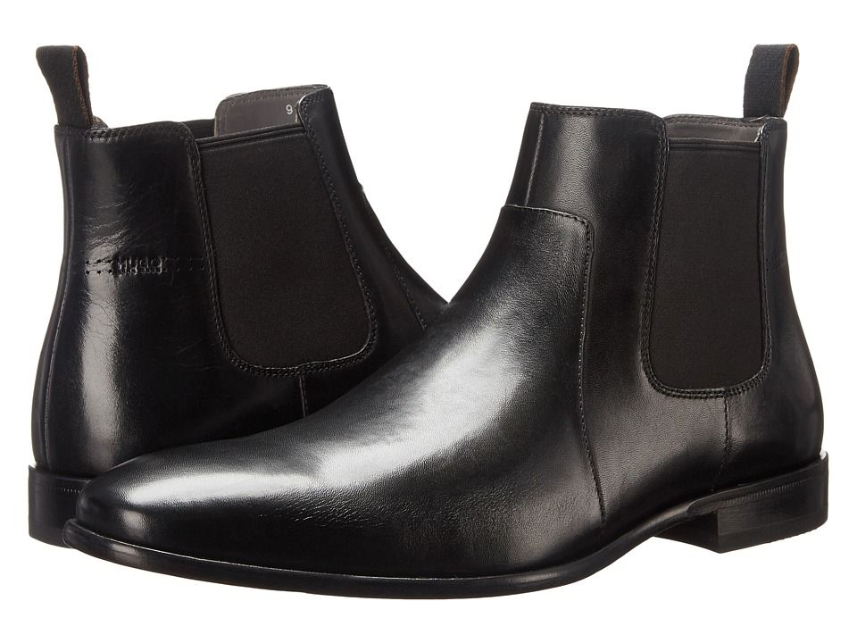 24d930ad172 BOSS Hugo Boss C-Hubot by HUGO Men's Dress Pull-on Boots Black ...
