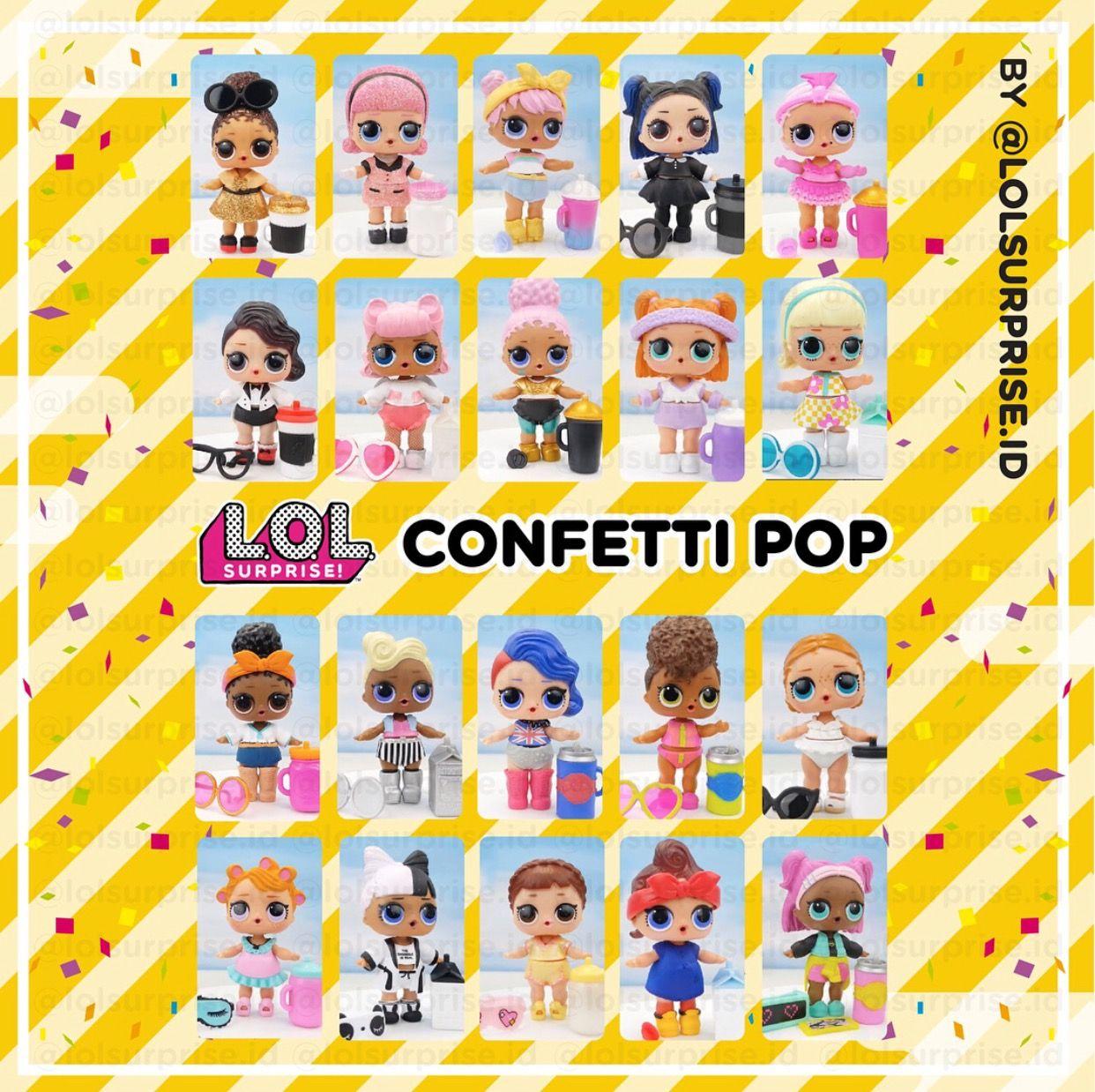 ❤️LOL Surprise Cheeky Babe Dolls Confetti Pop big sister collect