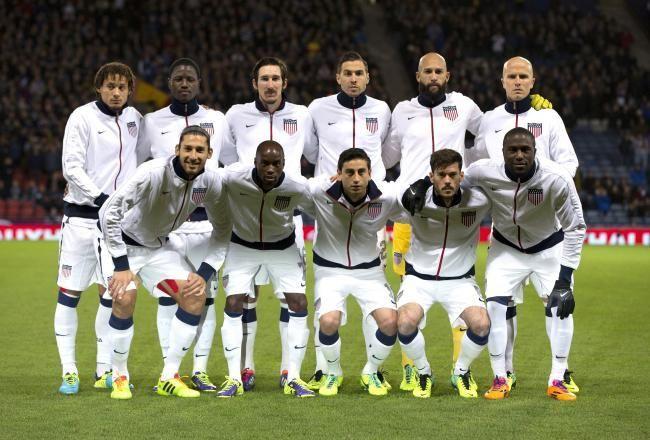 USA World Cup 2014 Team. 2-1 Victory over Ghana. Go USA!