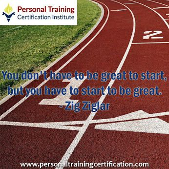 Start to be great. #personaltrainingcertificationinstitute #ptcinstitute