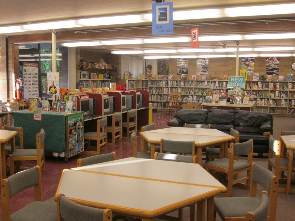 school library The pecan creek library is open daily, monday through friday, from 7:25am-3:25pm students come with their class to the library each week for story time, library lessons, research activities, and/or checkout time.