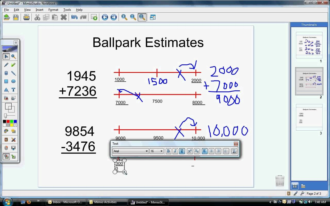 Ballpark Estimate Video Avi