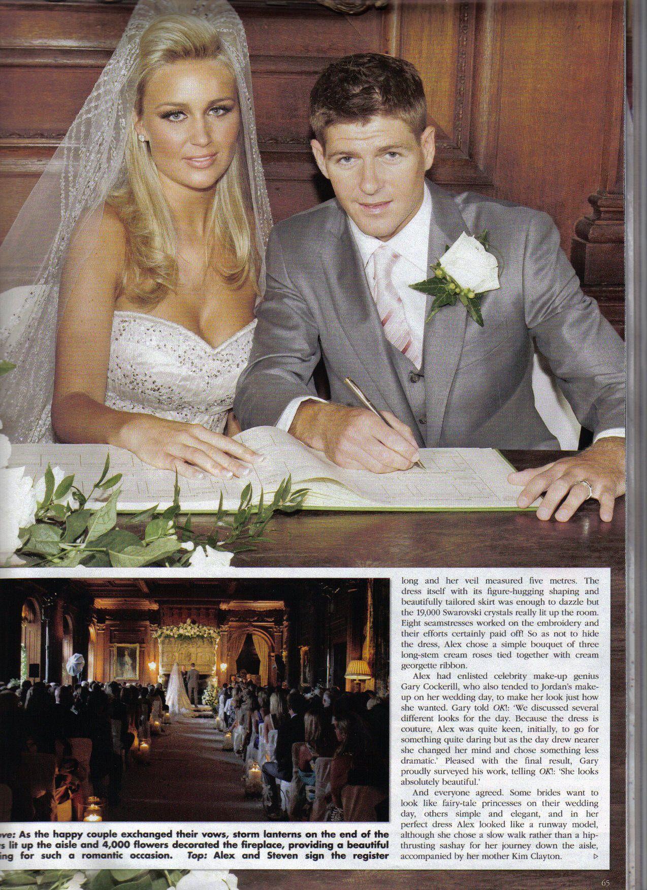 OK Had The Gerrards Wedding Photo Album Exclusive Naturally June 2007