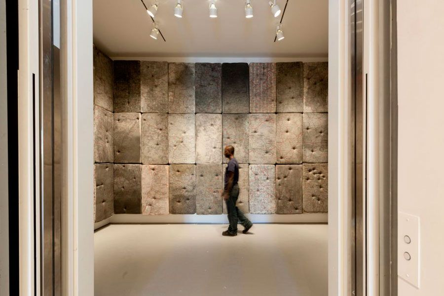Guillermo Kuitca: Retrospectiva en la Pinacoteca del Estado de San Pablo @Flavia Masetto