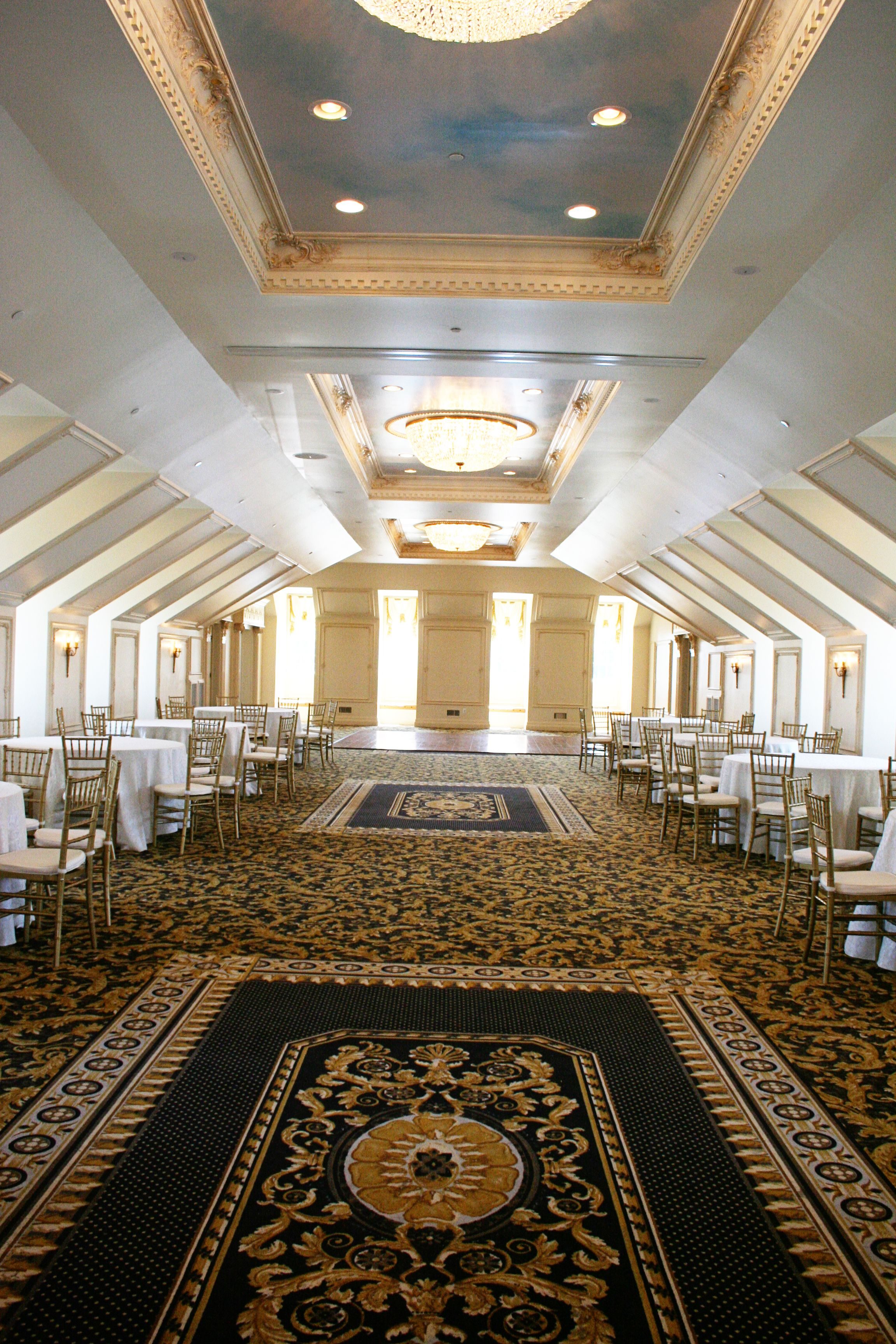 The Landmark - Hall and Gardens at I-40, Exit 312 -- a lovely venue ...