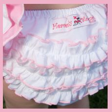 ruffled diaper covers for babies   ... Apparel   Ruffled Baby Bloomers   Christian Gifts   Faith Baby