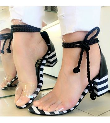 RASTEIRA 17309 PRETA  villemarie is part of Cute womens shoes -
