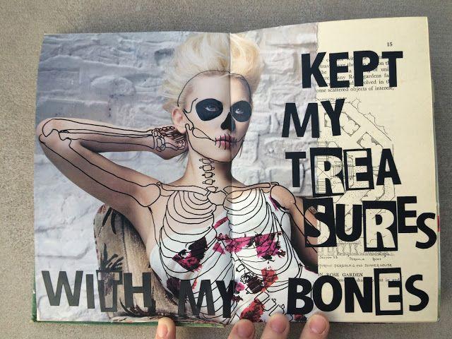 Dans mon crâne: Get Messy Season of Words || 06