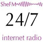 LOO; SheFM  Listen to our Stream 24/7 now. As we expand we will begin our LIVE broadcast.