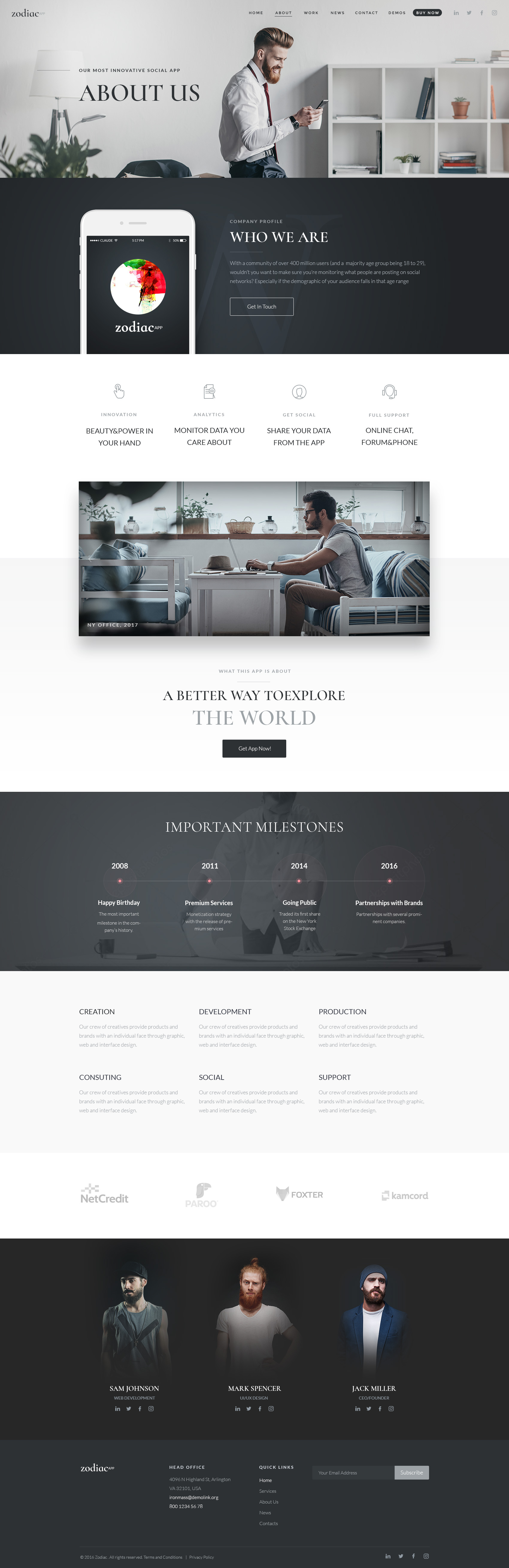 Zodiac Theme App Layout Web Design Beautiful Web Design Great Website Design