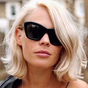 31 Gorgeous Reasons To Go Platinum Blond Right Nowlove this platinum blonde color!
