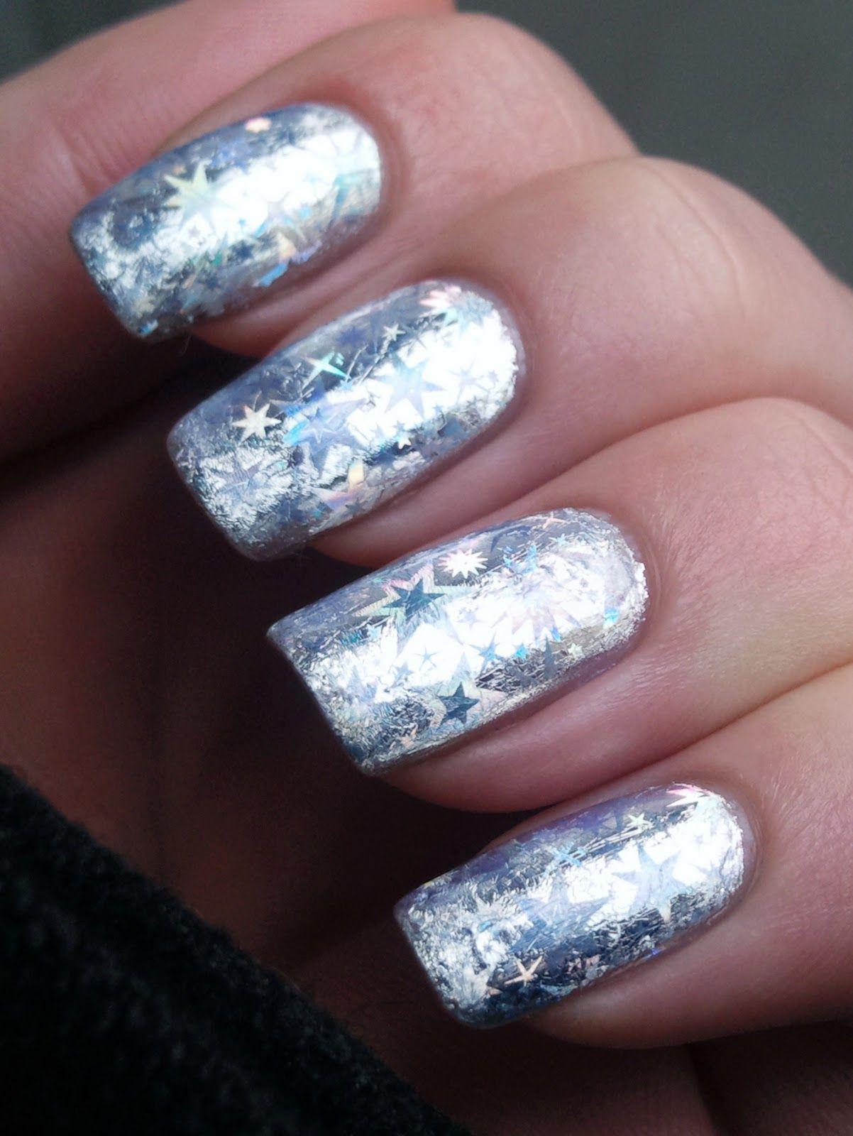 Naildesignusingnailfoil foil nail art craft how tos foil naildesignusingnailfoil foil nail art craft how prinsesfo Images