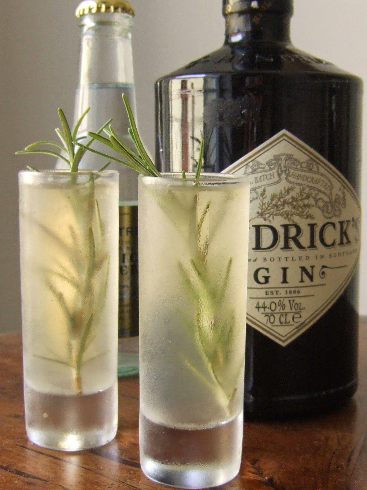 Hendrick Gin tonic jelly shot