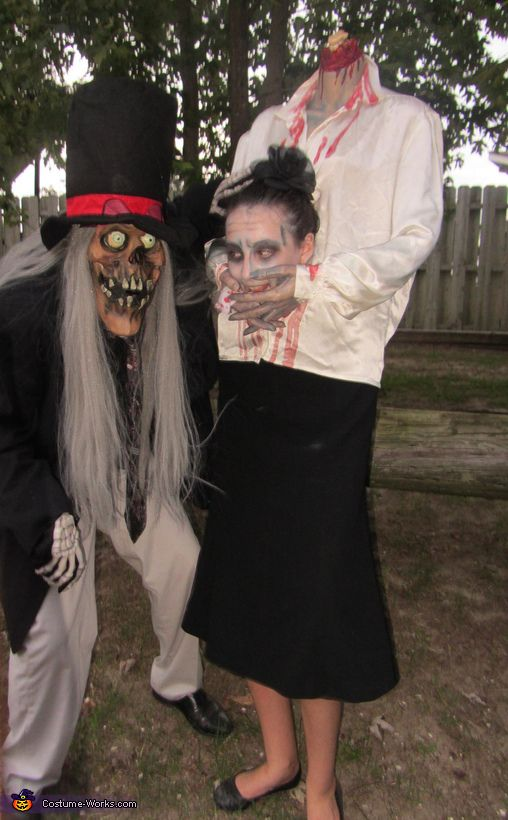 I made this costume for around $20. I used a damaged plastic mannequin torso that I bought at one. & Headless Girl - Halloween Costume Contest at Costume-Works.com ...