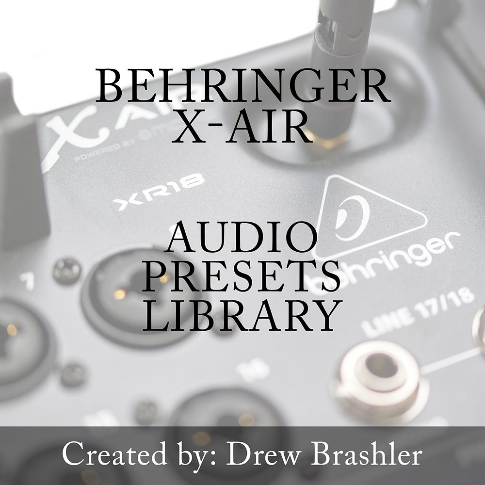 Behringer X Air Presets Library Download Cool Kitchens Cooking