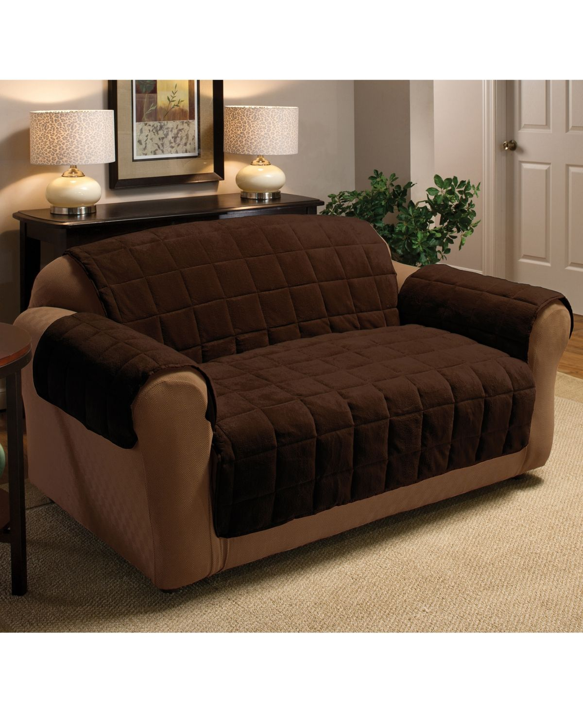 P Kaufmann Home Plush Sofa Protector Reviews Slipcovers Home Decor Macy S Loveseat Slipcovers Furniture Slipcovers For Chairs