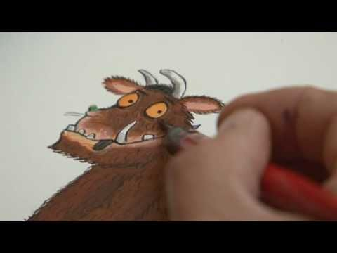 Axel Scheffler, illustrator of Julia Donaldson's Gruffalo books, describes how he came up with the look of the much-loved children's character
