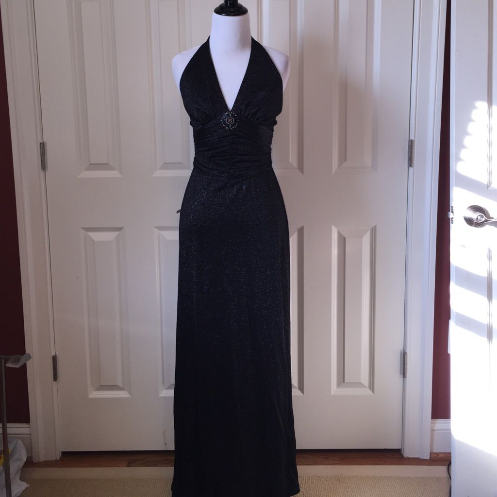 Stunning Bcbgmaxazria Black Sparkly Gown | Products