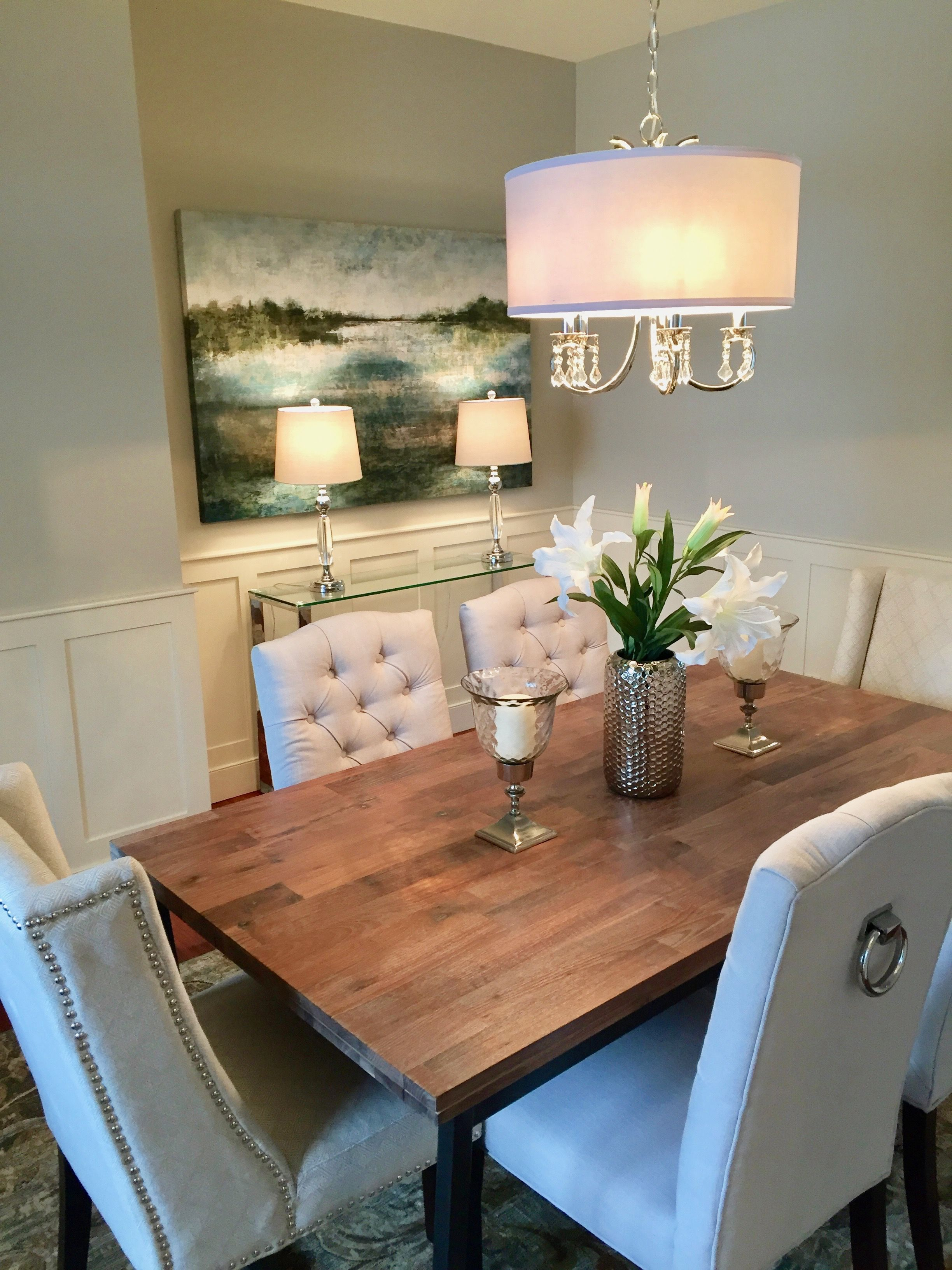 Dining Room Styled By Transcend Staging With Images Dining