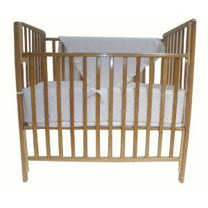 Dream On Me Aden Convertible 4 In 1 Mini Crib Natural Natural Cribs Mini Crib Convertible Crib