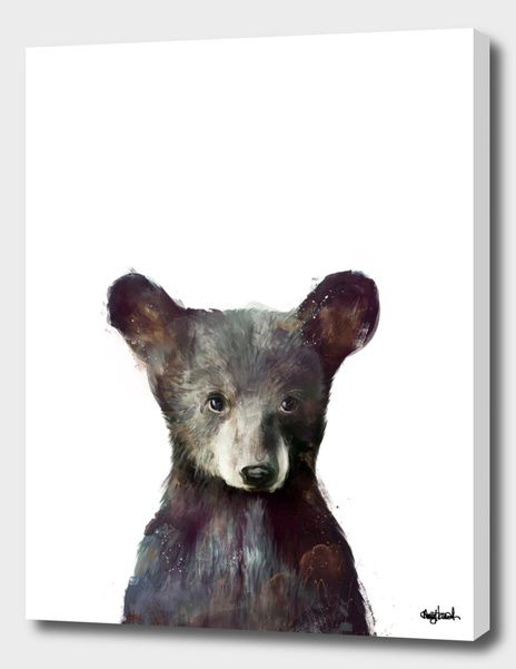 «Little bear» Canvas Print by Amy Hamilton – Numbered Edition from $59 | Curioos