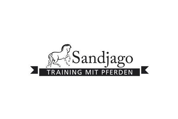 Wir haben das Logo für Sandjago gestaltet.