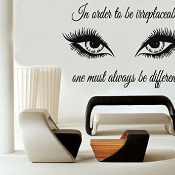 glamour wall decals eyes - google search | boudoir | pinterest