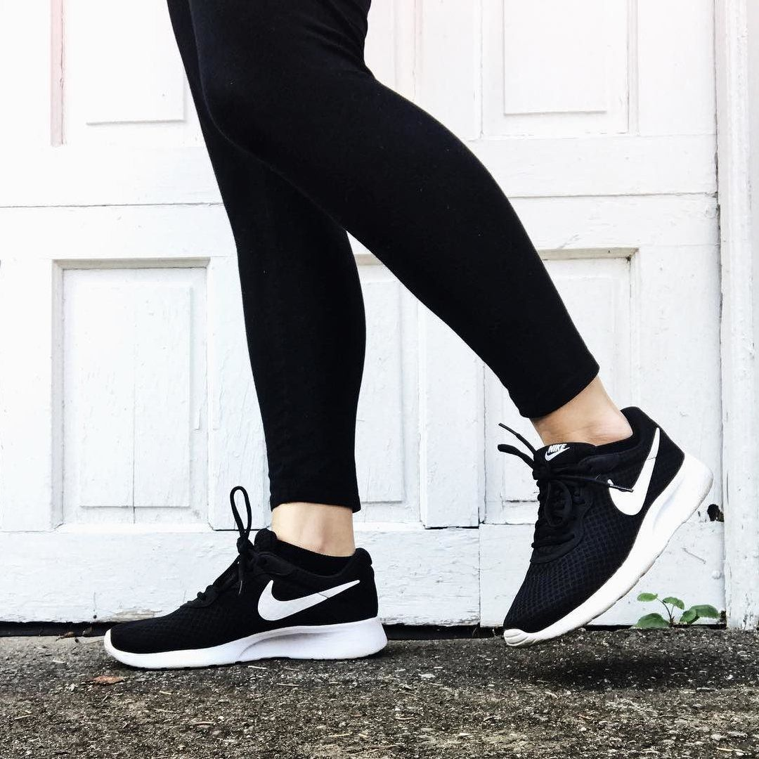 Nike running shoes outfit