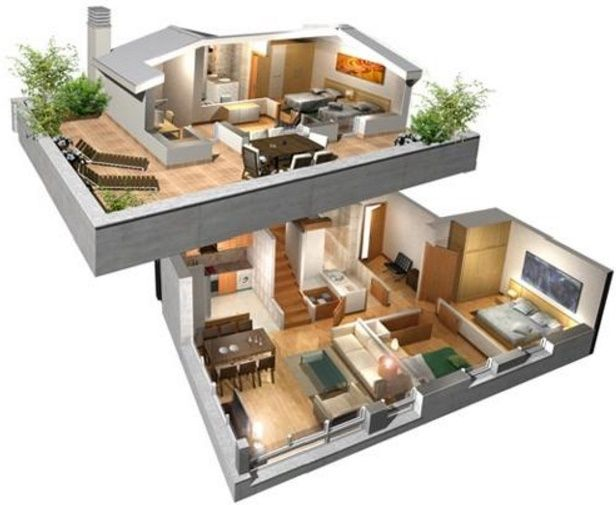 Casas Modernas Buscar Con Google Planos De Casas Prefabricadas Casas De Dos Pisos Planos De Casas